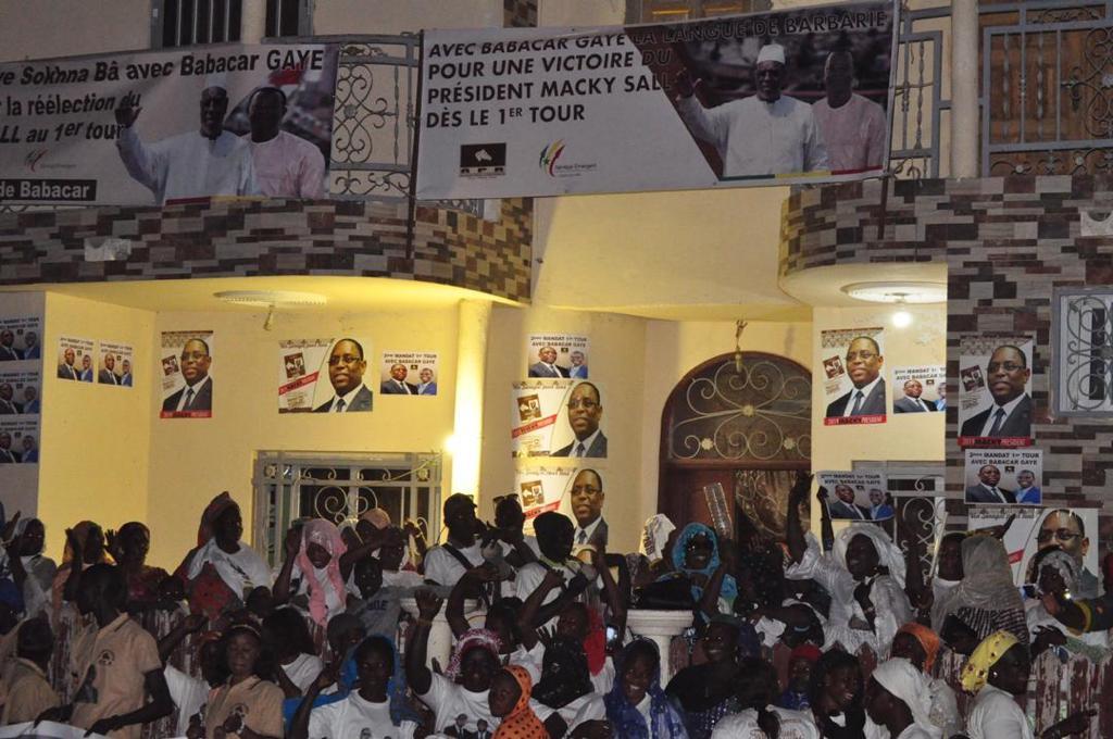 GOXU MBACC : Babacar GAYE en démonstration de force (photos)