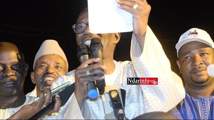La démonstration de force de Mary Teuw NIANE : « Macky SALL est le messie de la politique sénégalaise. Nous sommes en ligue des champions. Les autres sont en troisième division » (vidéo)