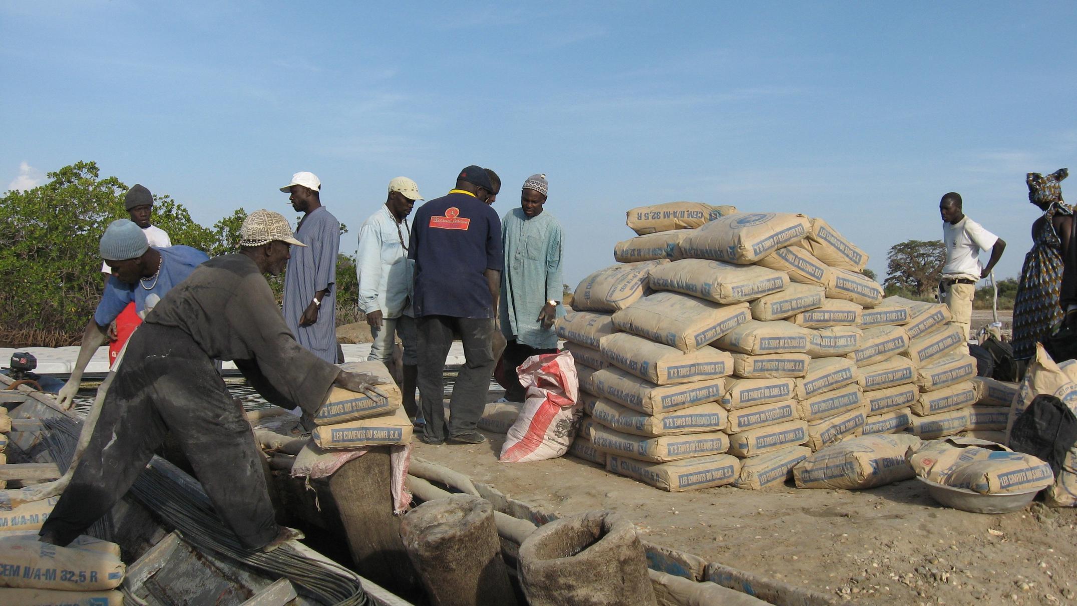 Hausse du prix du ciment de la Sococim