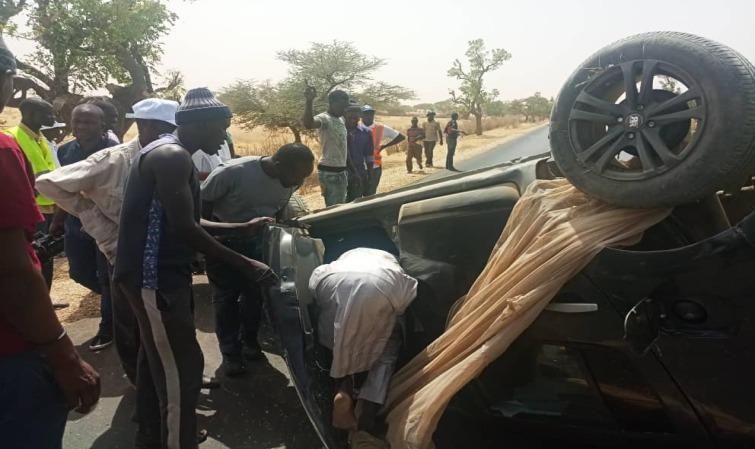 Accident sur la route de MPAL : deux blessés graves.