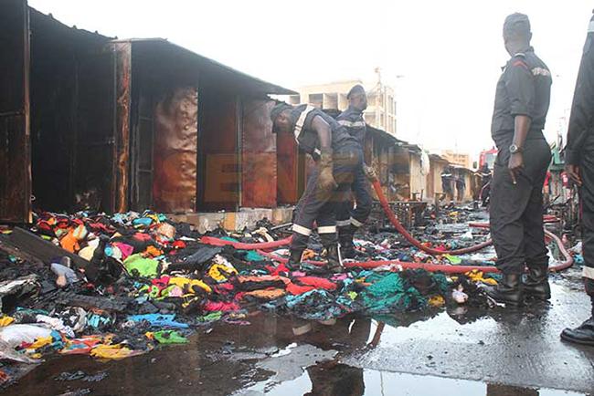 Incendies dans les marchés : l'État dégaine 300 millions FCFA