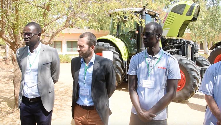 Machinisme agricole : l'expertise de CLAAS mise au service de la vallée (publireportage)