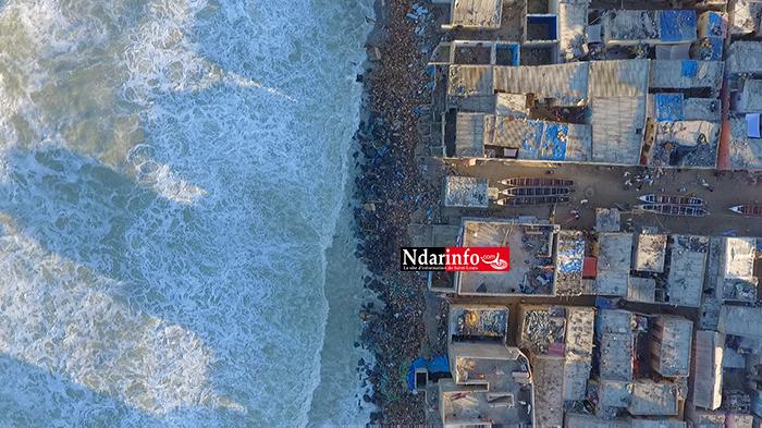 Lutte contre l'érosion côtière : l'ADM annonce la construction d'une digue en enrochements à Guet-Ndar (vidéo)