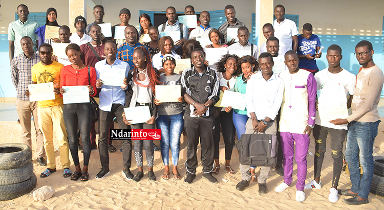 Leadership local : À Guinaw rails, une quarantaine de jeunes formés (vidéo)