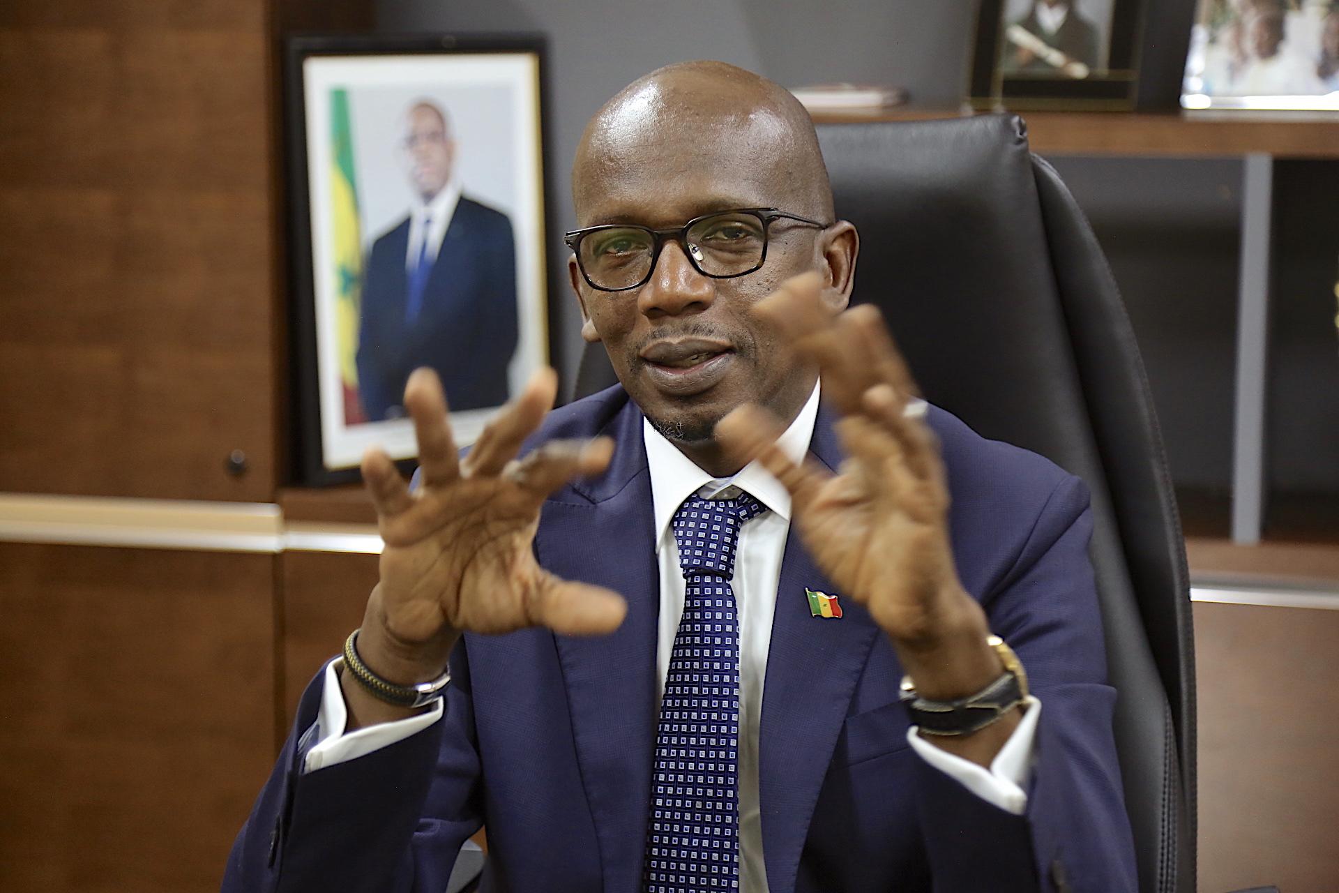 M. Lansana Gagny SAKHO, Représentant résidant du Centre Africain de Veille et d'Intelligence Economique (CAVIE)  au Sénégal