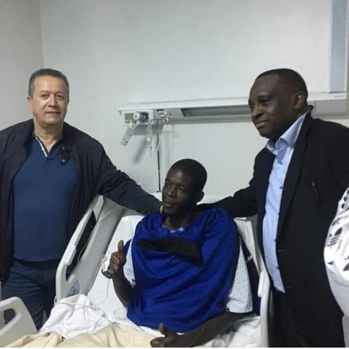 Khadim Ndiaye opéré avec succès