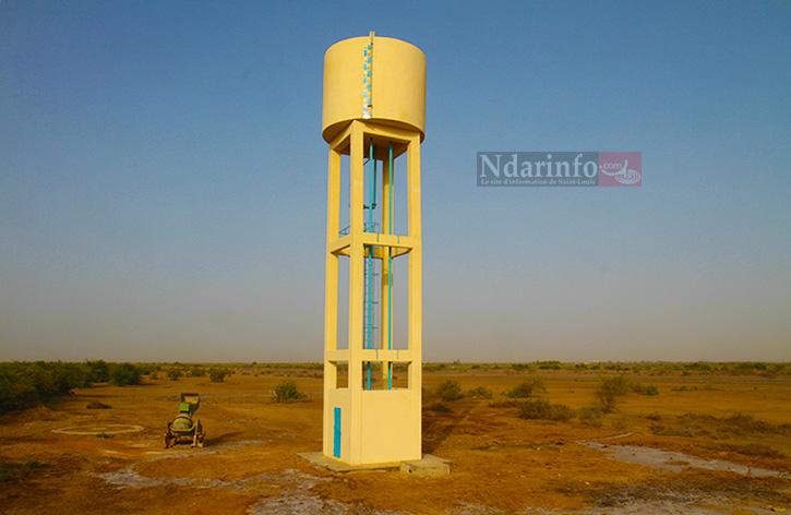 Le château d'eau de Diagambal réalisé dans le cadre du projet AICHA