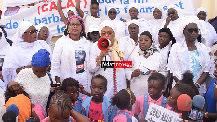 Marche pacifique : Saint-Louis réclame la criminalisation du viol (vidéo)