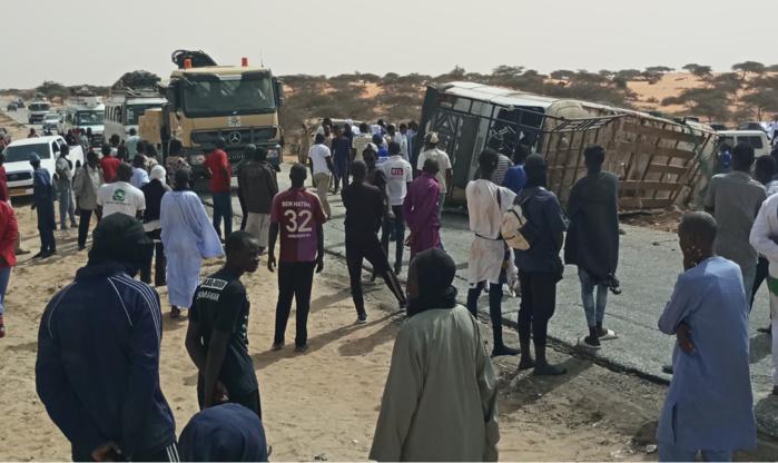 Pèlerinage de Nimzat : le Renversement d'un bus fait trois morts et plusieurs blessés.