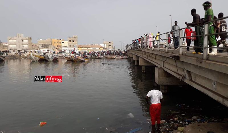 Noyade sous le Pont de GUET-NDAR : les sapeurs ont retrouvé le corps du jeune pêcheur