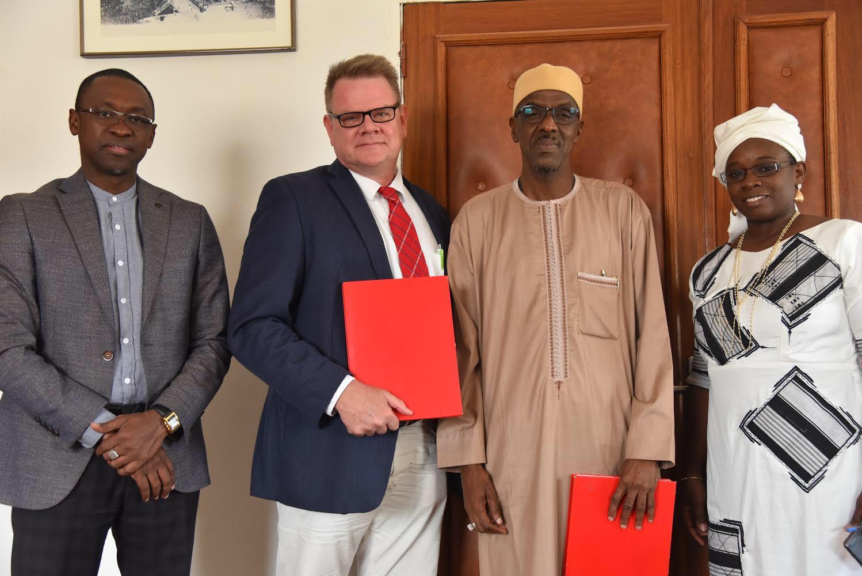 Signature d'une convention de Partenariat entre la SAED et le Projet Feed The Future Sénégal « KAWOLOR »