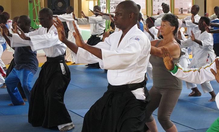 La quinzième édition de l'aïkido se tient à Saint-Louis du 2 au 4 août