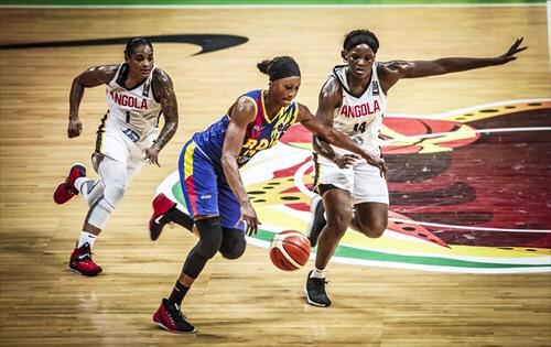 Afrobasket 2019 Dames : L'Angola prend la 5ème place