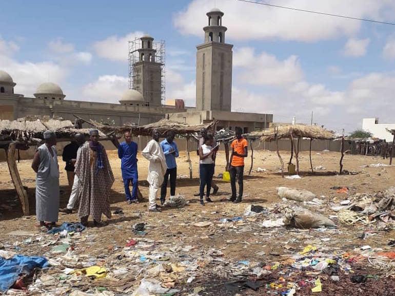 Marchés hebdomadaires dansle  département de Podor : l'équation de la gestion des déchets générés par ces « loumas ».