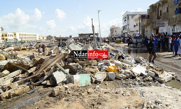 Libération des berges des GOXU MBACC : la Mairie annonce la démolition des propriétés privées, des mosquées et daaras ...