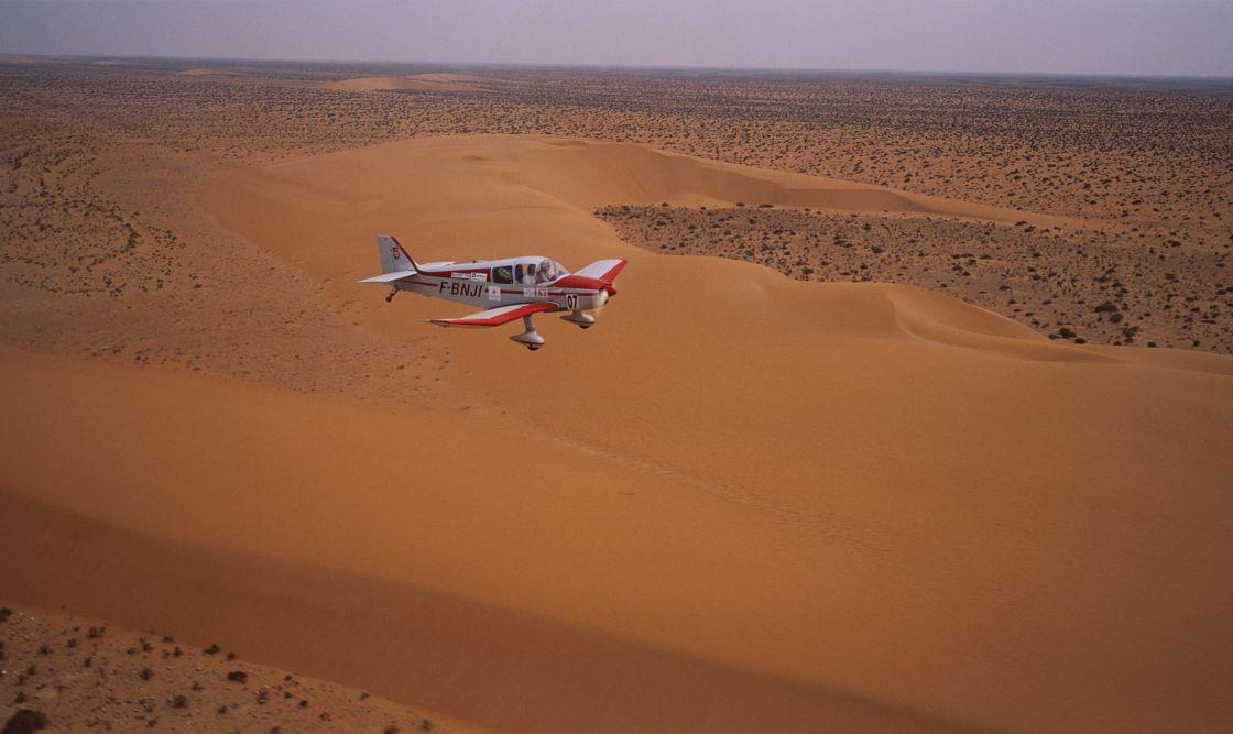 Le 37ème Rallye aérien Toulouse-Saint-Louis du Sénégal fait escale à Dakhla