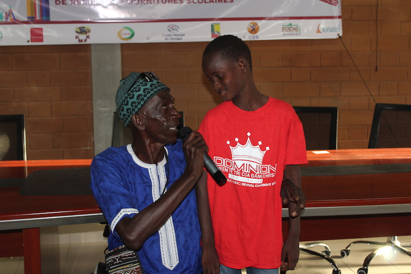 Appui scolaire : le Service régional de l'Action Sociale au chevet des enfants nécessiteux (photos)