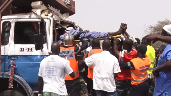 Axe Louga-Saint-Louis : les pompiers dénombrent 10 accidents et 46 blessés