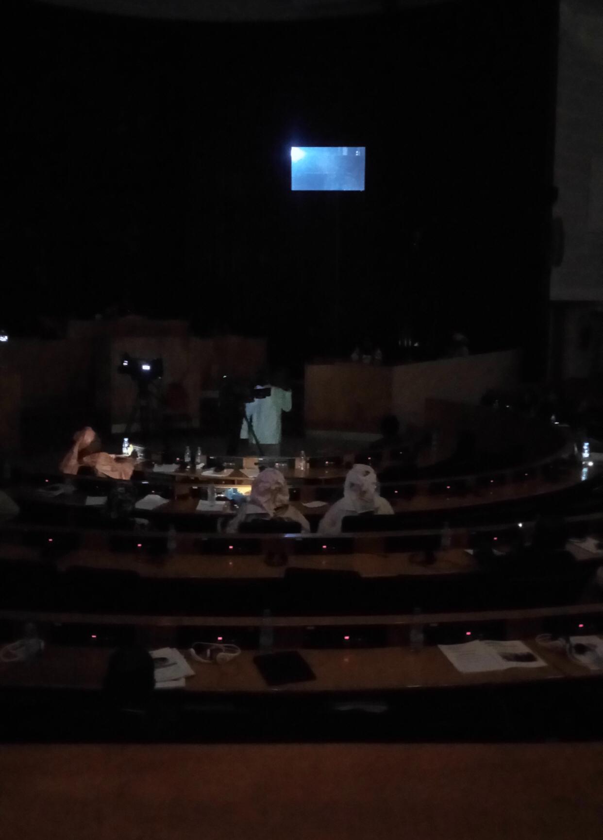 Assemblée Nationale : Coupure d'éléctricité en pleine plénière...