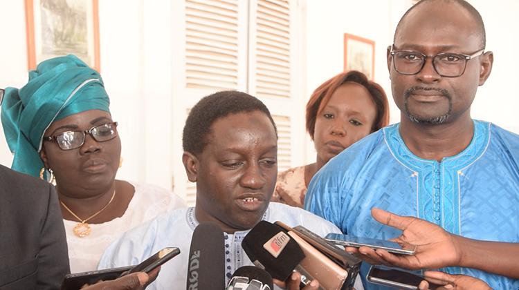 Idrissa CAMARA, directeur administratif et financier de l'ADM
