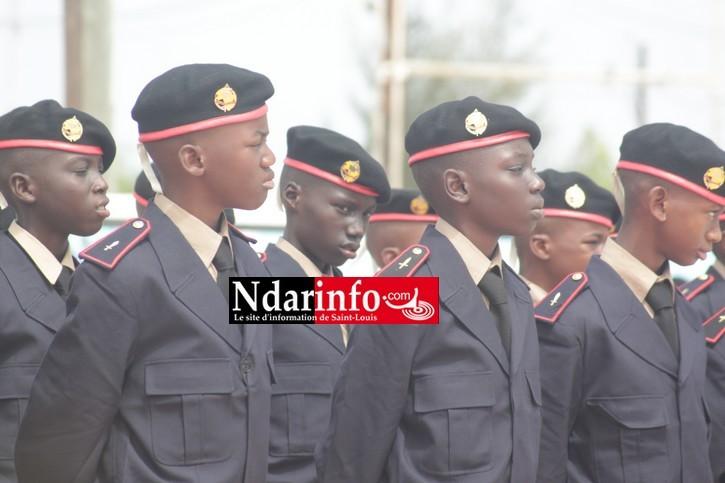 Saint-Louis : présentation du drapeau aux élèves de sixième du Prytanée militaire, vendredi