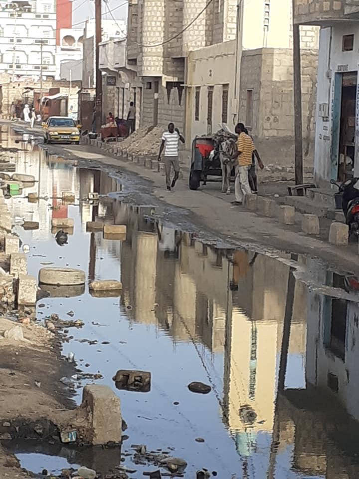Tableau WALO : les fosses septiques débordent. Une mosquée inaccessible (photos)