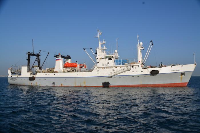 Mauritanie : deux navires russes arraisonnés pour surpêche