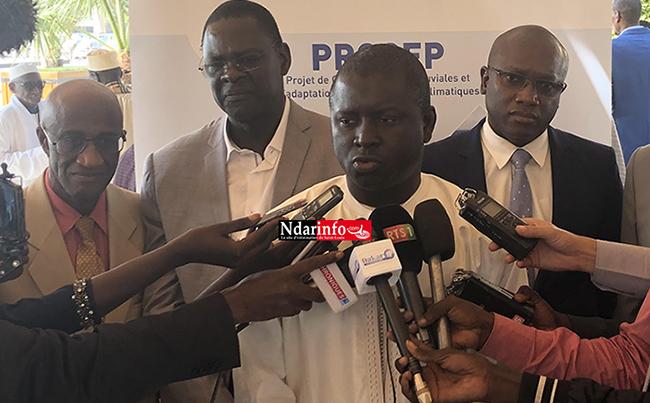 Mise œuvre du PROGEP à Saint-Louis : les résultats sont « plus que satisfaisants », selon Cheikh Issa SALL, le DG de l'ADM