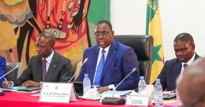 Le communiqué du Conseil des ministres de ce 18 décembre 2019