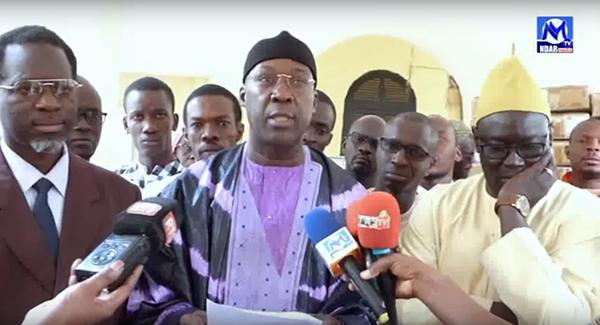 Saint-Louis : le Colonel Abdourahim KÉBÉ remet d'importants lots d'équipements à l'hôpital