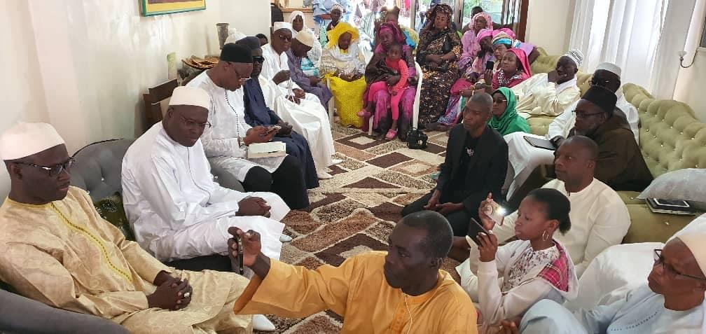 Saint-Louis : Khalifa SALL rend visite à Cheikh Bamba DIÈYE (photos)