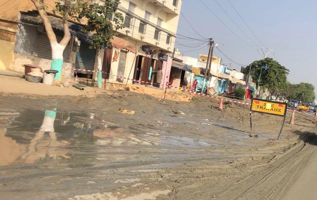 Cassure d'une conduite à Guy Séddelé : 4 jours sans eau à Pikine