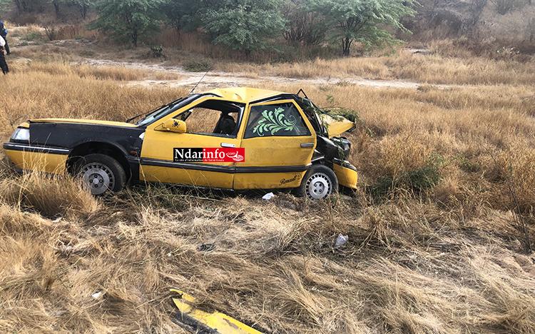 Nouvel accident sur l'axe GANDON-RAO : de l'urgence de fermer le CET !
