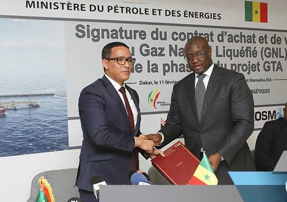GNL du Grand tortue ahmeyim : Dakar et Nouakchott ont signé l'accord de vente