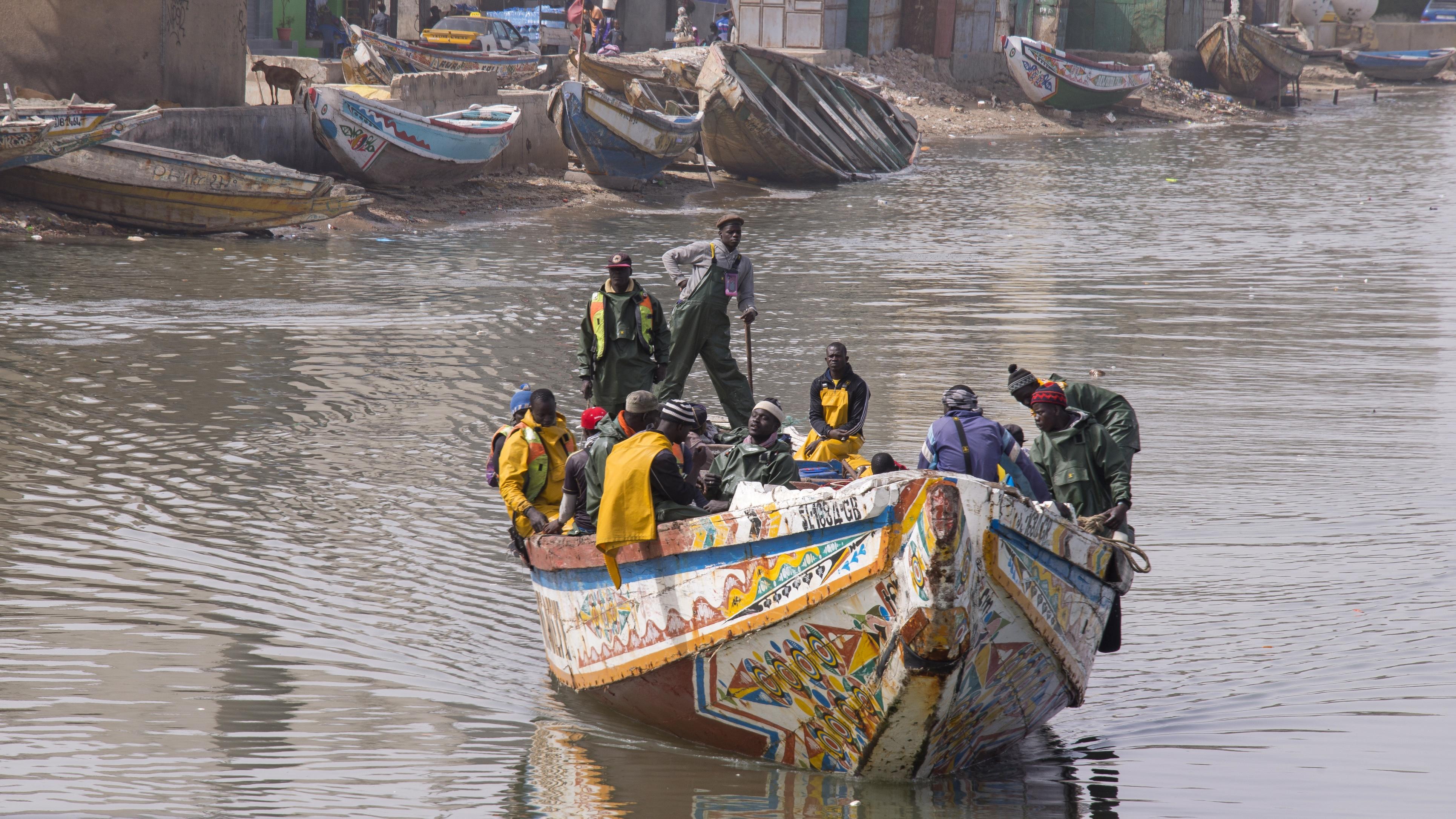 Saint-Louis: 4 pêcheurs arrêtés dans les eaux mauritaniennes et déférés à Rosso