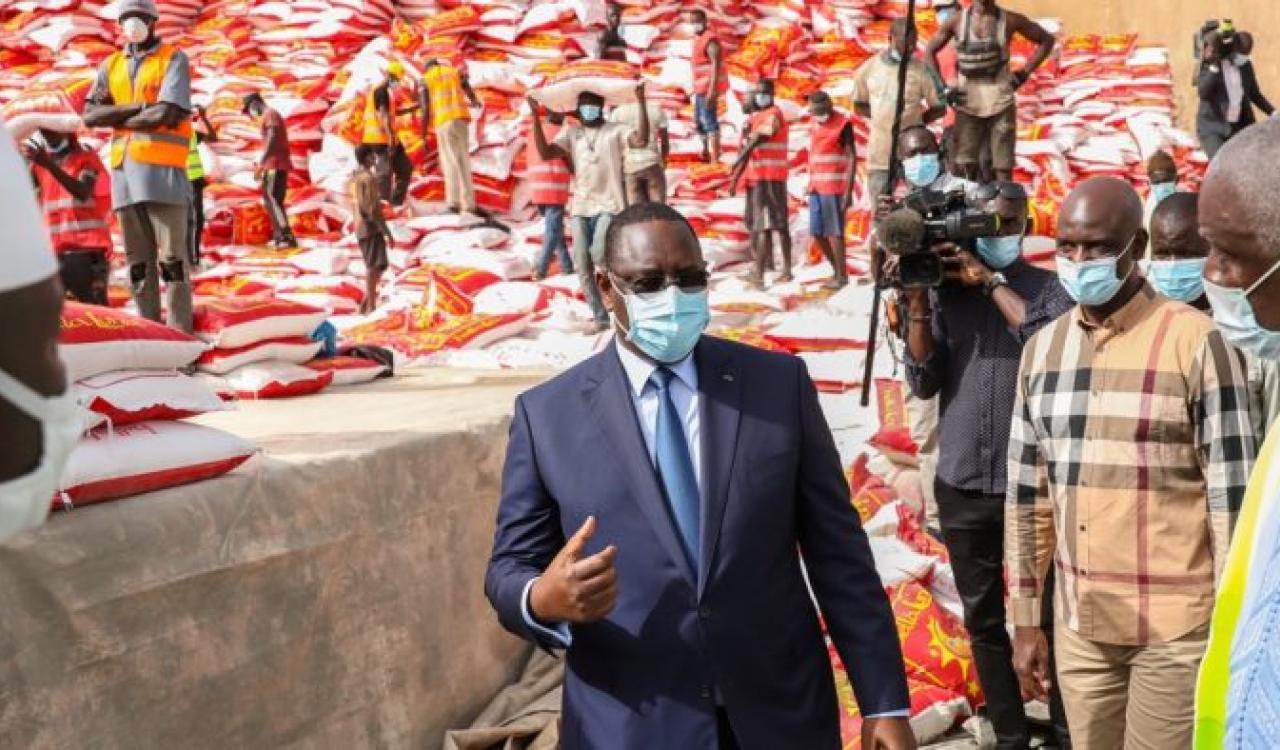 Mansour FAYE annonce le démarrage de la distribution de l'aide d'urgence dans une semaine