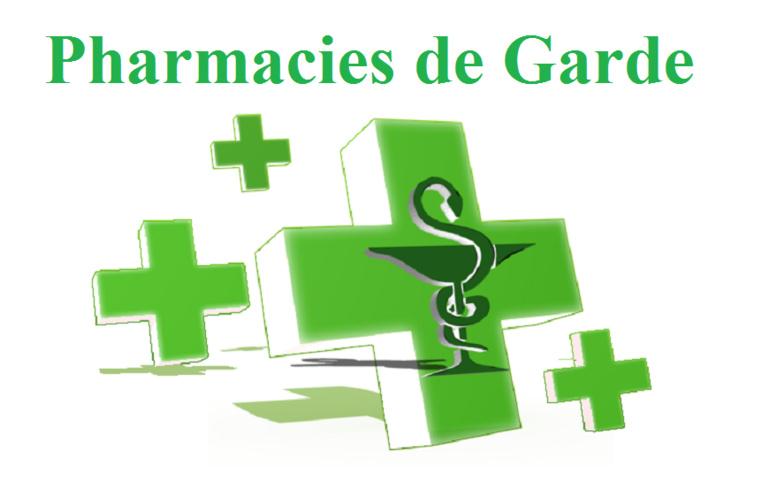 Le Calendrier des Pharmacies de Garde : du 25 avril au 04 juillet 2020