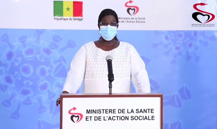 Le Sénégal franchit la barre des 1000 cas