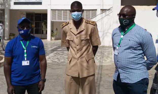 Saint Louis/ Covid-19 : la SEN'EAU apporte son soutien au comité régional de gestion de la pandémie