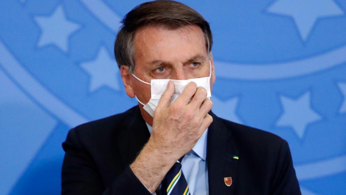 COVID-19/BRÉSIL : Le Président testé positif