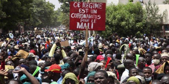 Mali: au moins un mort et plusieurs blessés lors de la manifestation contre le président IBK à Bamako