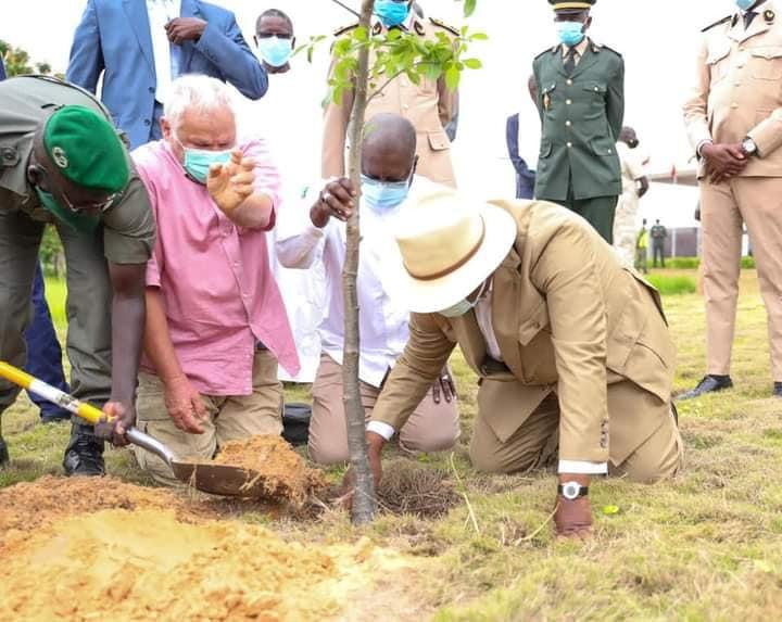 Célébration de la journée nationale de l'arbre à Diamniadio : La leçon de Macky à Abdou Karim Sall