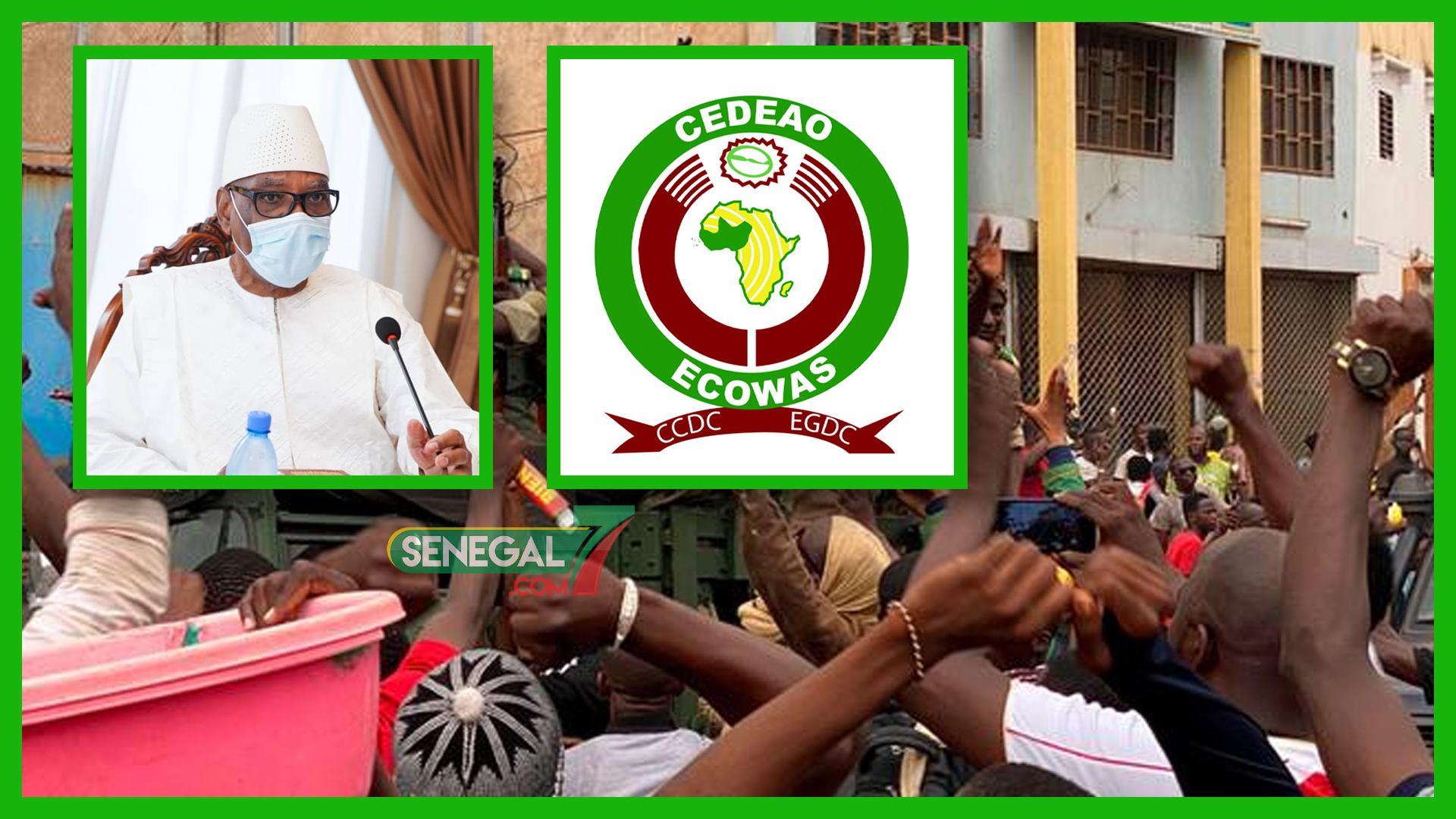 """""""Nous avons vu le Président Keïta, il va très bien"""" (Cedeao)"""