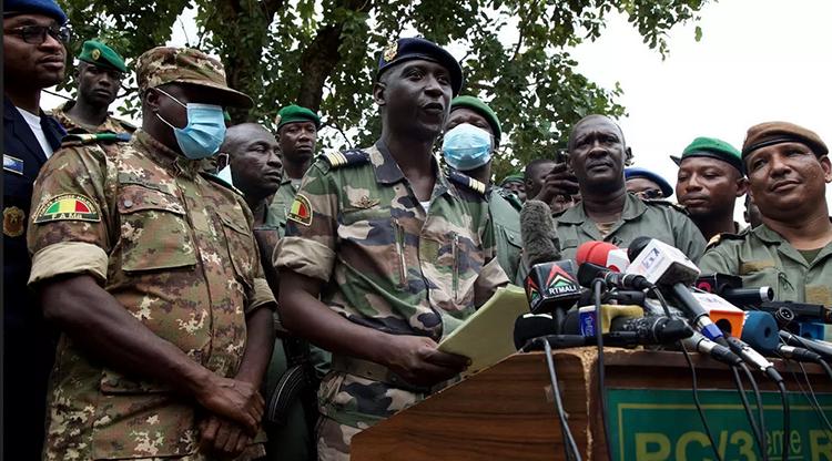 """Les putchistes mettent en garde la Cedeao : """"Le Mali ne compte se faire dicter la gestion de ses affaires internes ..."""""""