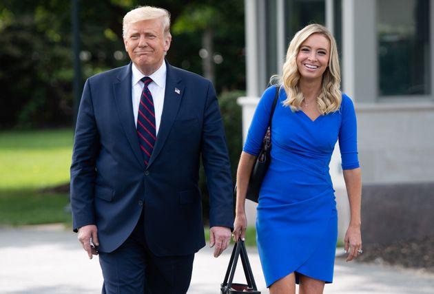 Covid-19: Kayleigh McEnany, la porte-parole de Donald Trump, testée positive