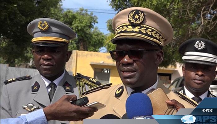 Le gouverneur de Saint-Louis loue le ''travail efficace'' de la gendarmerie à la frontière nord