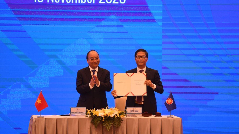 Commerce: quinze pays d'Asie et du Pacifique ont signé un vaste accord de libre-échange promu par la Chine