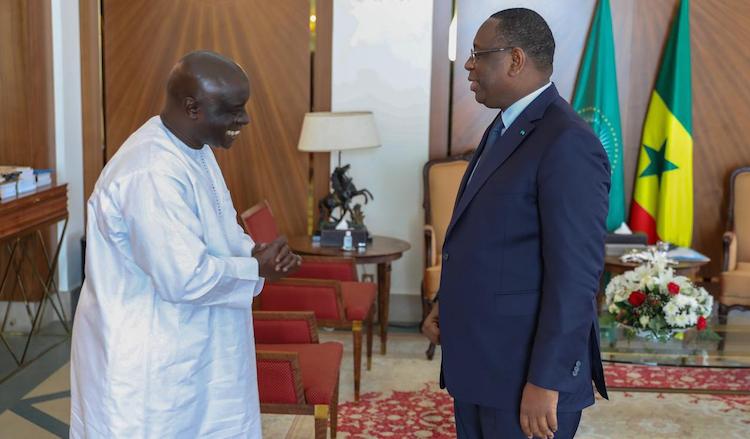 "Idrissa SECK réitère sa ""fidélité"" et  sa ""loyauté"" au président Macky SALL"