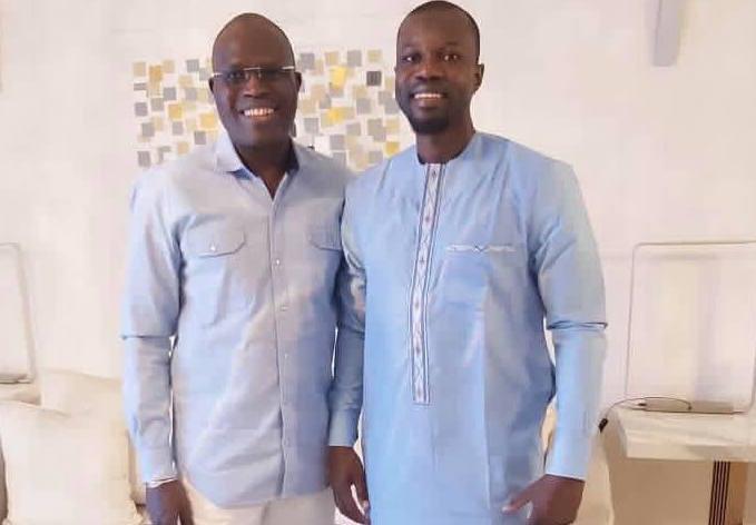 """""""Entrevue prometteuse"""" entre Khalifa SALL et Ousmane SONKO"""