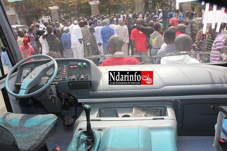 """Bus incendie à Guet-Ndar : les """"TATA"""" en grève, ce matin"""
